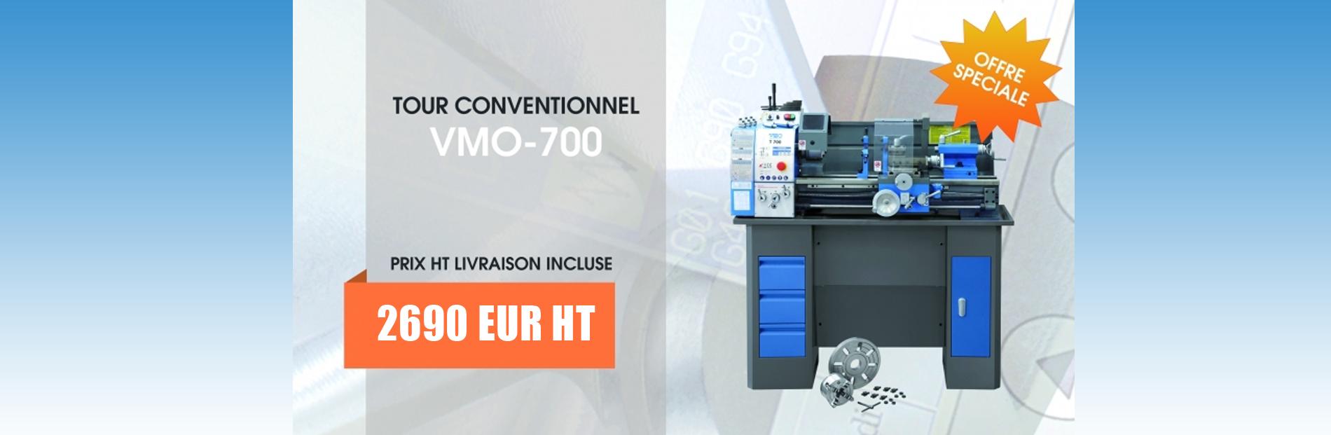 Tour Conventionnel VMO-T700 Offre Spéciale